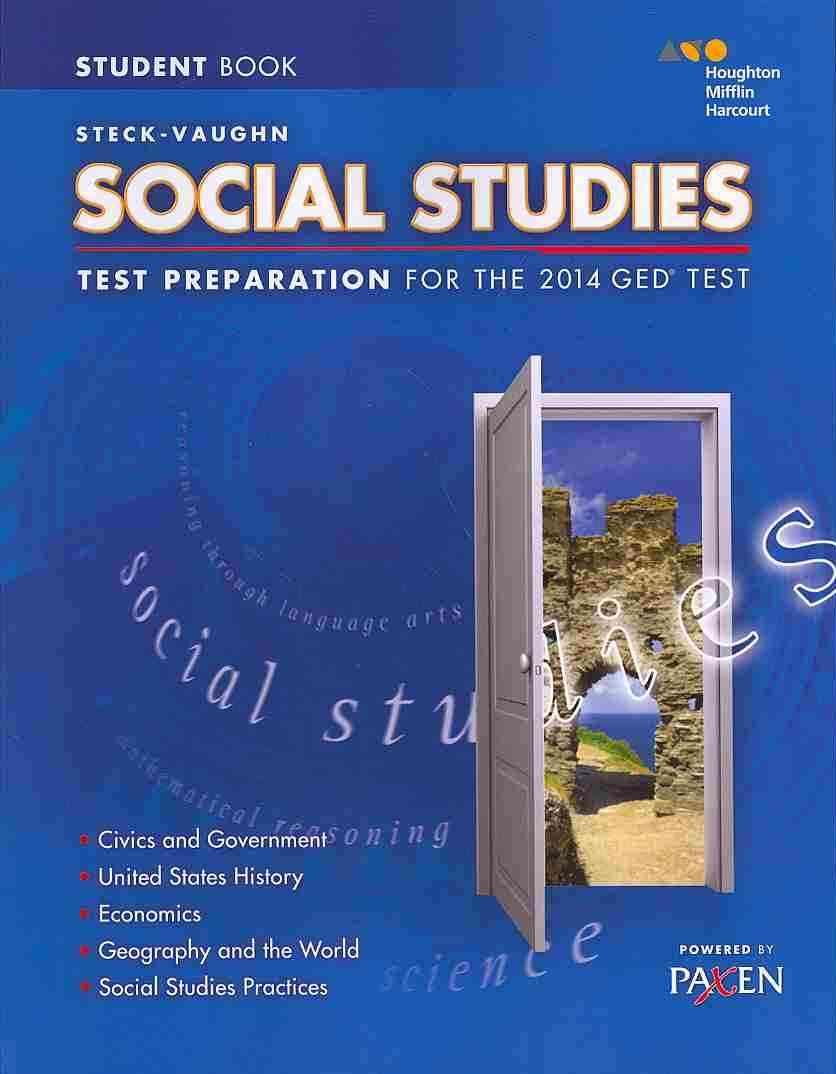 Steck-vaughn Ged Test Preparation Social Studies By Steck-Vaughn (COR)